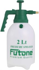 Futone 0.5 Gallon Hand Held Garden Sprayer Water Pump Pressure Sprayers