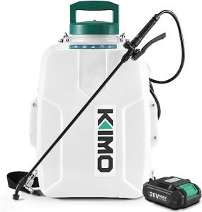 KIMO 3 Gal. 20V Li-Ion Battery Powered Backpack Sprayer