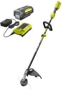 YOBI 40-Volt Lithium-Ion Cordless Attachment Capable String Trimmer